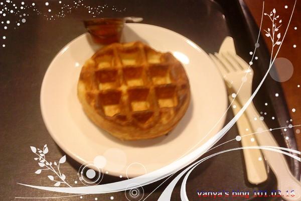 高雄青年門市星巴克-比利時鬆餅與蜂蜜