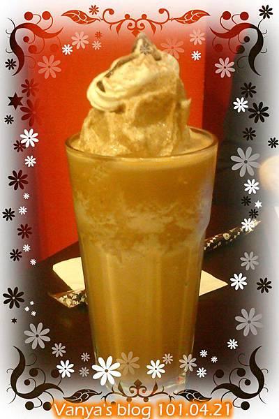 高雄漢神4F西雅圖咖啡-女王妹的摩卡冰砂