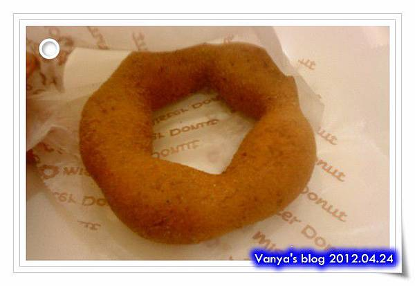Mister donuts漢神店-黑糖芙花,新產品