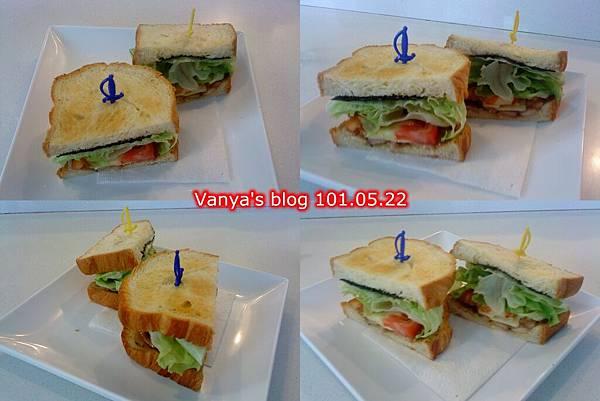 高雄 always a+咖啡館-丹麥燻雞三明治
