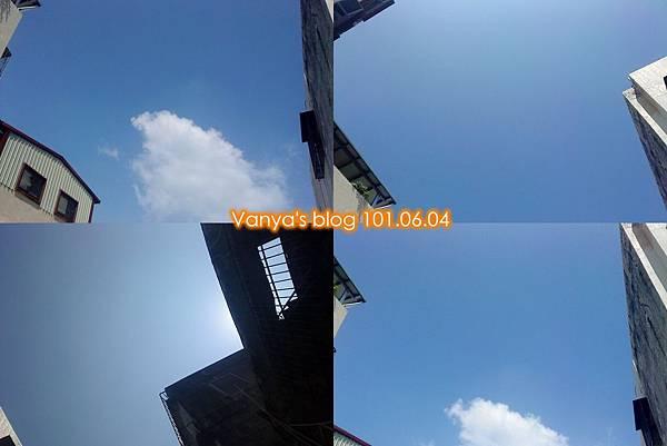 藍天、白雲~~