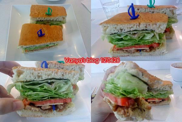 always a+之佛卡夏燻雞三明治