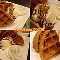 高雄漢神4F西雅圖咖啡-冰淇淋鬆餅