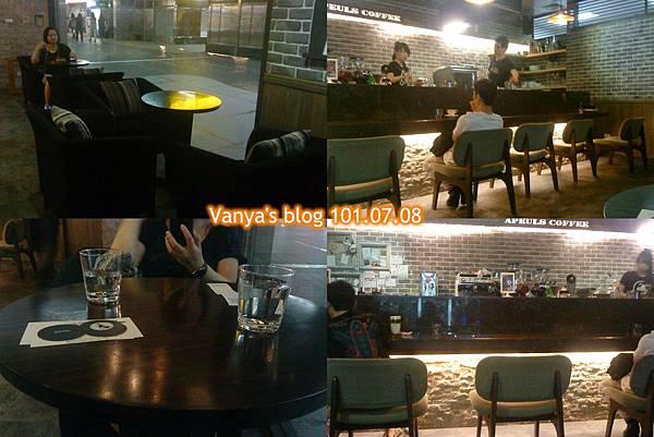 高雄雅裴詩咖啡-室內座位