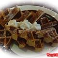 高雄雅裴詩咖啡-穎點的巧克力鬆餅