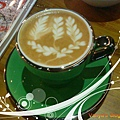 高雄雅裴詩咖啡-卡布奇諾的拉花