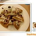 珈琲舍道-下午茶主角,抹茶鬆餅