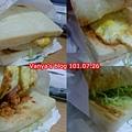 高雄西子灣-阿木的店之肉鬆三明治,外帶