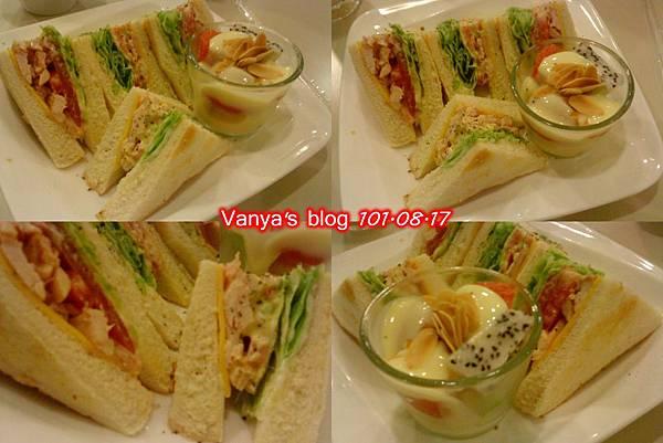 高雄夢時代之波哥-田園燻雞三明治