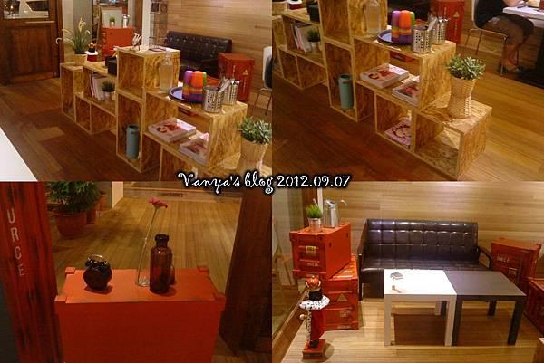 哈瑪星The cafe'-室內裝飾等