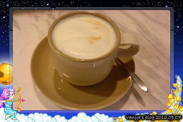 哈瑪星The cafe'-熱卡布奇諾