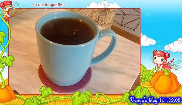 高雄The cafe'-熱美式咖啡,不錯~~