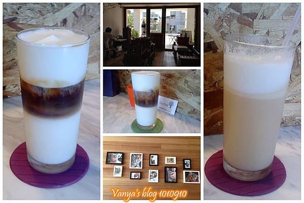高雄The cafe'-無糖冰卡布奇諾