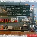 草圖咖啡-吧台上的黑板