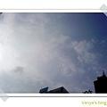 草圖咖啡-下午15點初的天空~