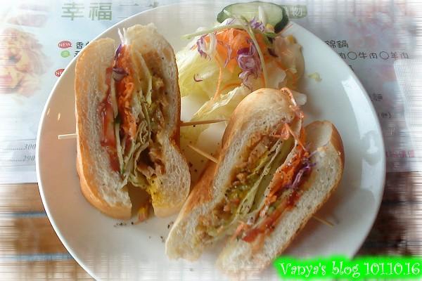 2F story-法式燻雞三明治