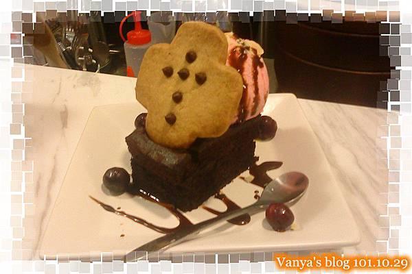 The cafe'-萬聖節限定布朗尼!