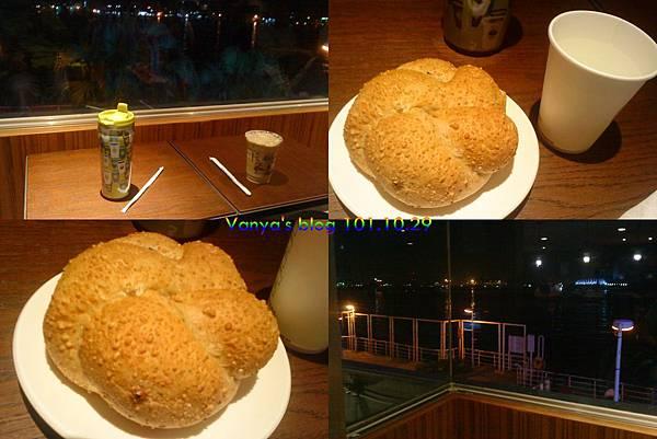 星巴克西子灣門市-與毛的晚茶...