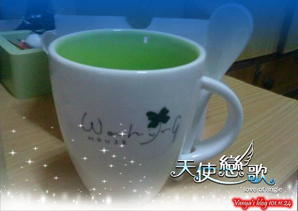 生日禮-幸運草附湯匙杯