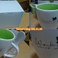 生日禮-幸運草附湯匙杯,可愛!