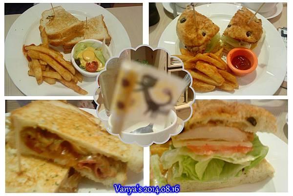 漢明治美術館店-兩份三明治系列套餐