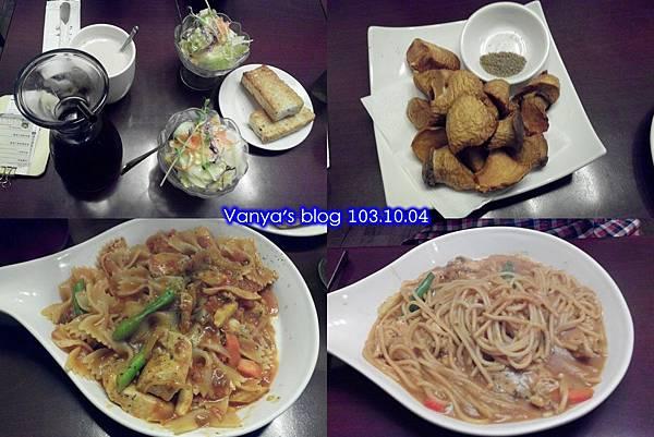 235巷義大利麵漢神店-老妹的咖哩雞肉、穎的茄汁雞肉~