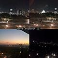 機加酒-KKR hotel osaka 8F窗外的夜景