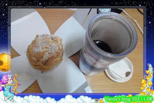 晚茶-AGF咖啡+多那之起酥泡芙~~