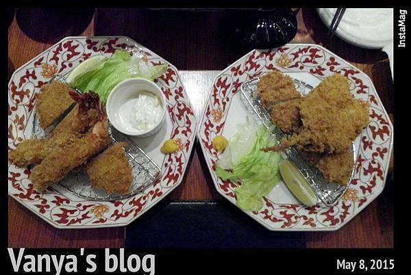 夢時代銀座杏子豬排-雙拼套餐的主角!