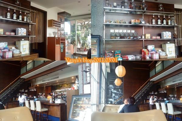 高雄尚品咖啡漢神店,室內照