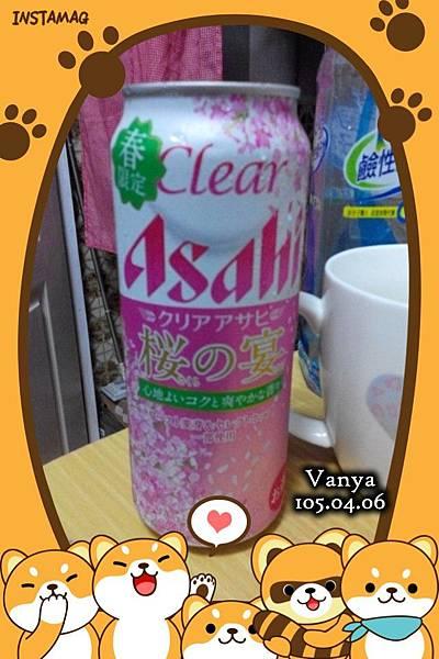 朝日-櫻之宴啤酒