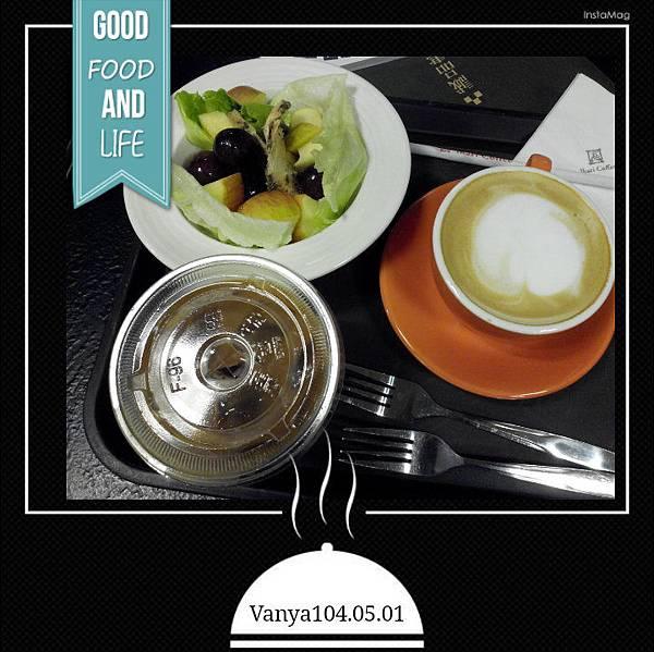 大統和平店-怡客咖啡,晚茶