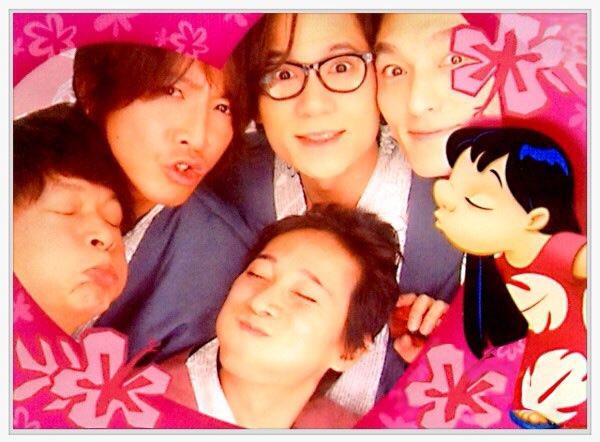 SMAP五人旅-大頭照