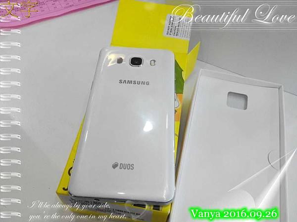 Samsung Galaxy J5 2016版-白色