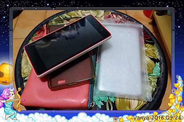 Infocus M210 及新舊手機外殼
