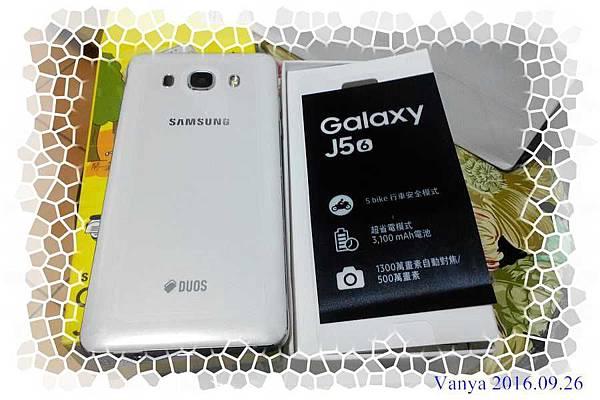 Samsung Galaxy J5 2016版白色