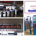 高雄火車站2F-持卡感應進站、出站