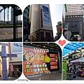 台南火車站附近百貨商圈