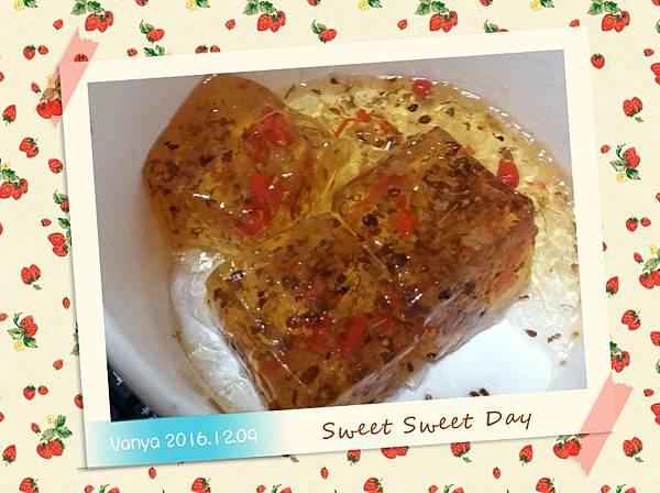 桂花糕-漢神巨蛋的漢來,女王妹尾牙唯一打包的食物