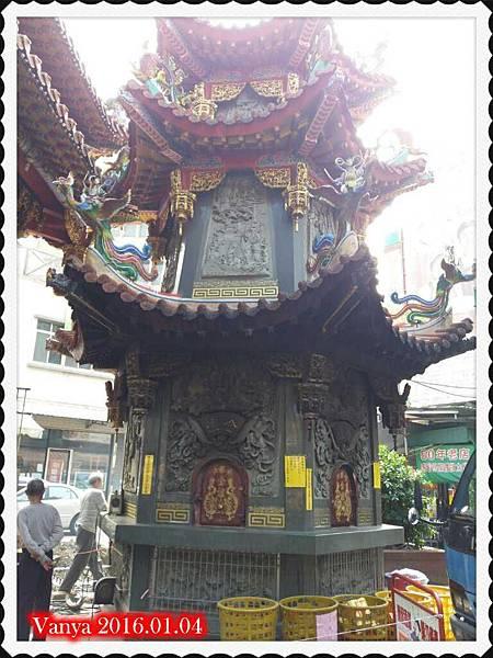 鳳山雙慈亭-燒金紙的爐