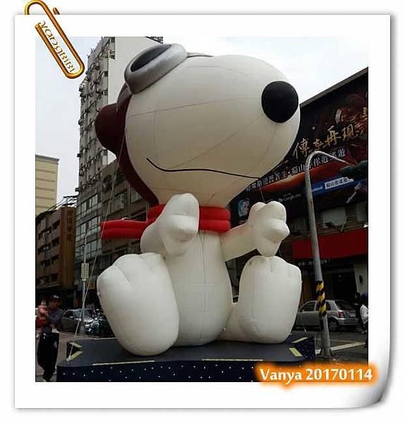 漢神百貨-史努比大型氣球