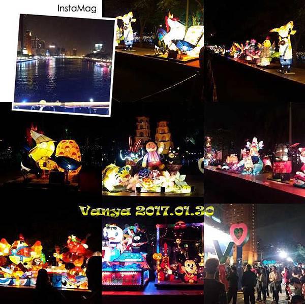 2017高雄燈會-雞年燈飾