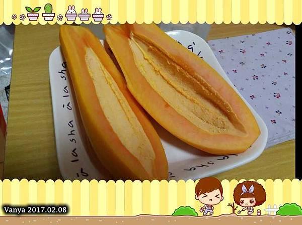 冬季的小木瓜