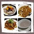 漢神巨蛋翠園餐廳-餐點陸續上桌