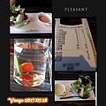 洋城義大利餐廳-鮮蔬沙拉千島醬及優格醬等