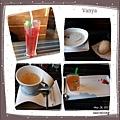 洋城義大利餐廳-餐前湯、麵包、飲料與甜點等