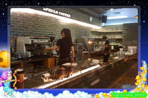 高雄美麗島站的雅詩裴咖啡,料理中
