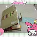 筆記本與瑪琪朵朵名片