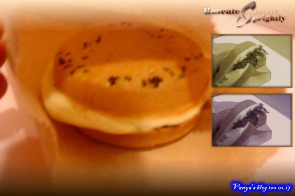 高雄漢神百貨附近的車輪餅-紅豆,好綿密