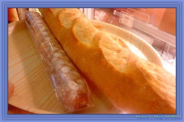 穎的帕莎蒂娜麵包坊戰利品-法國拐扙及丹麥牛奶棒